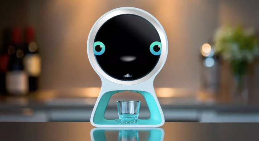 #AI pill-dispenser uses #facial and #voice #recognition