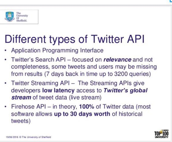 #SocialMedia Analytics: Twitter as a Data Source  #BigData #DataScience by @was3210