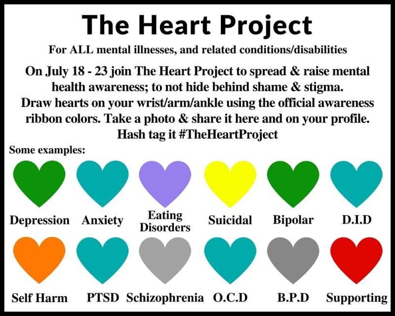 Mental Health Awareness Ribbon Colors Coloringsite