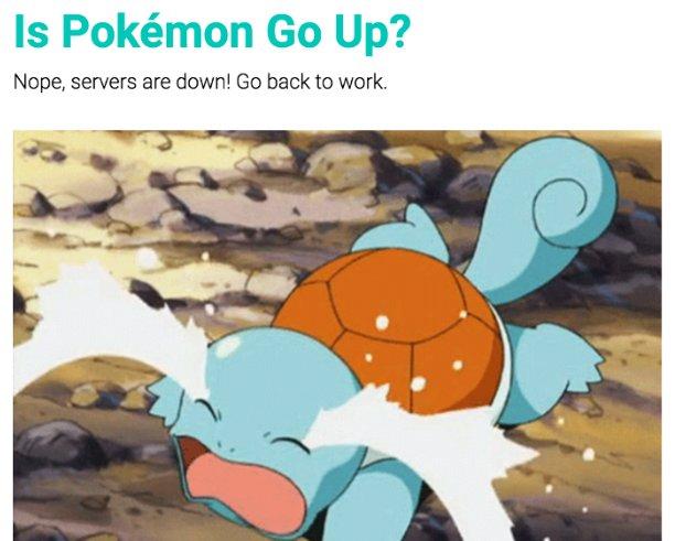 How I built a #PokemonGo #server status #checker, good tuto by @bdougieYO 😁 🐙 #reactjs
