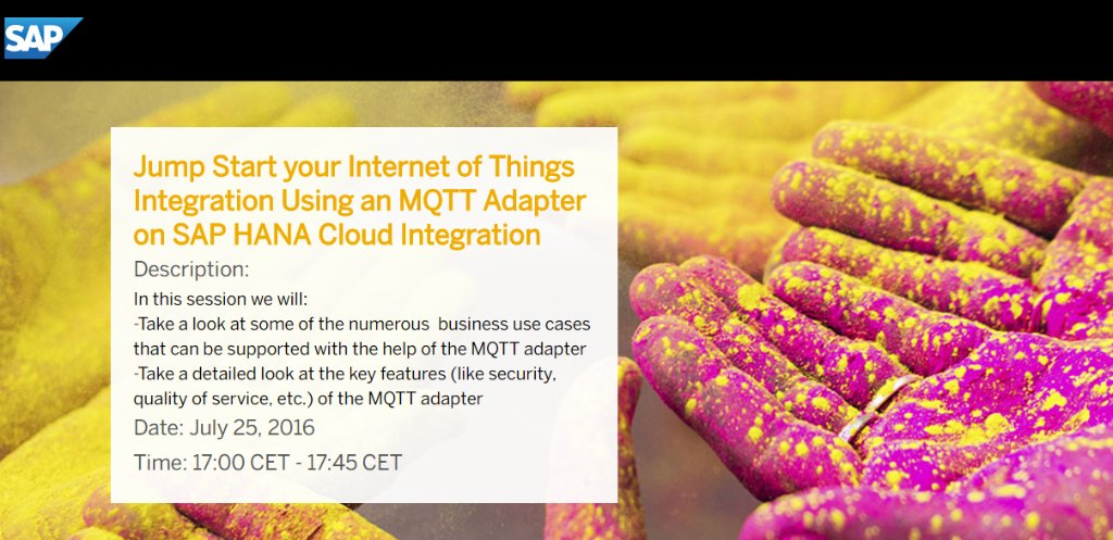 The #IoT opportunity: Enrich your existing processes and innovative entirely new biz models.