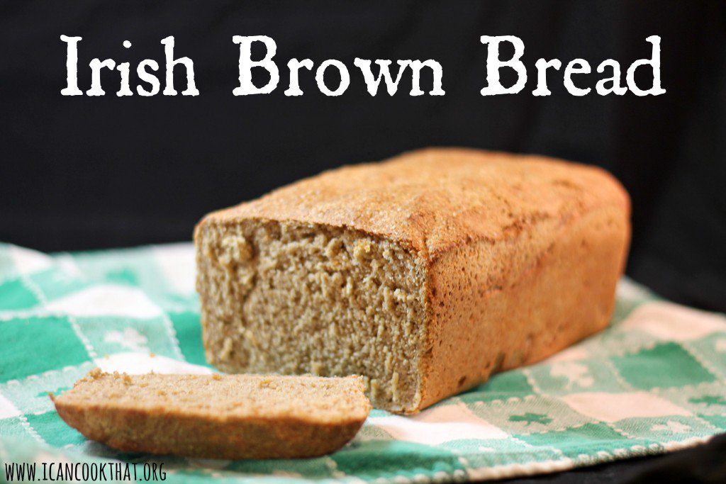 I made Irish Brown Bread w/ fresh milled flour to test out the GrainMill!