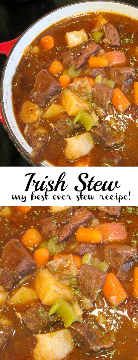 This Irish Stew is the best stew I\'ve ever made. Flavoured ... -
