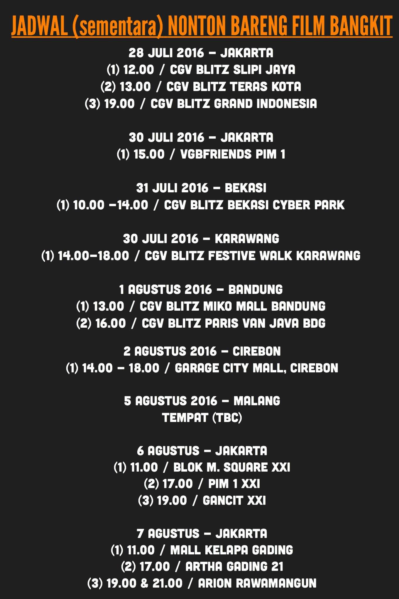 Jadwal Blitz Cirebon : jadwal, blitz, cirebon, G.Bastian, Twitter:,