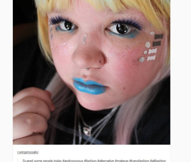 Trans Has Become An Aesthetic On Tumblr One That Means Dressing Up Like Rainbow Unicorn Poop Pic Twitter Com Pitylvsiyt