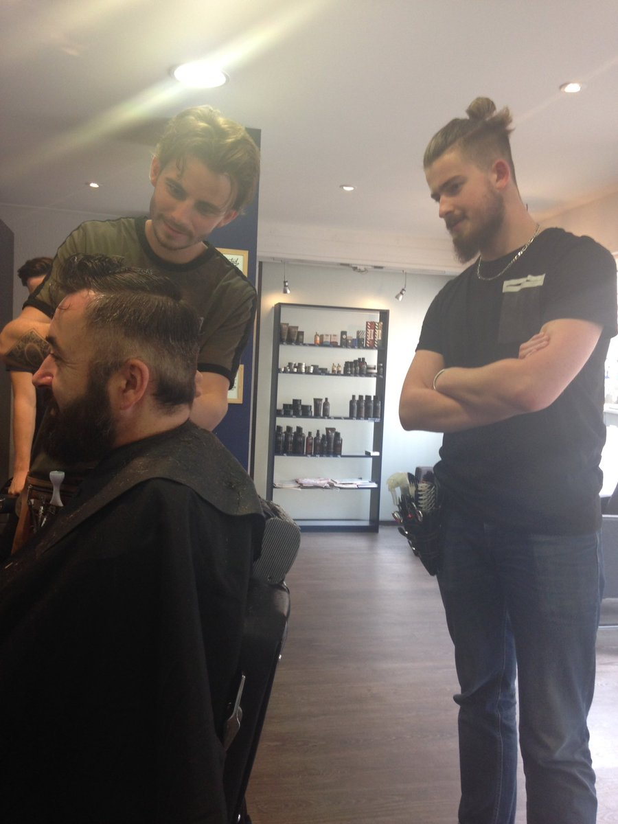max the barber on