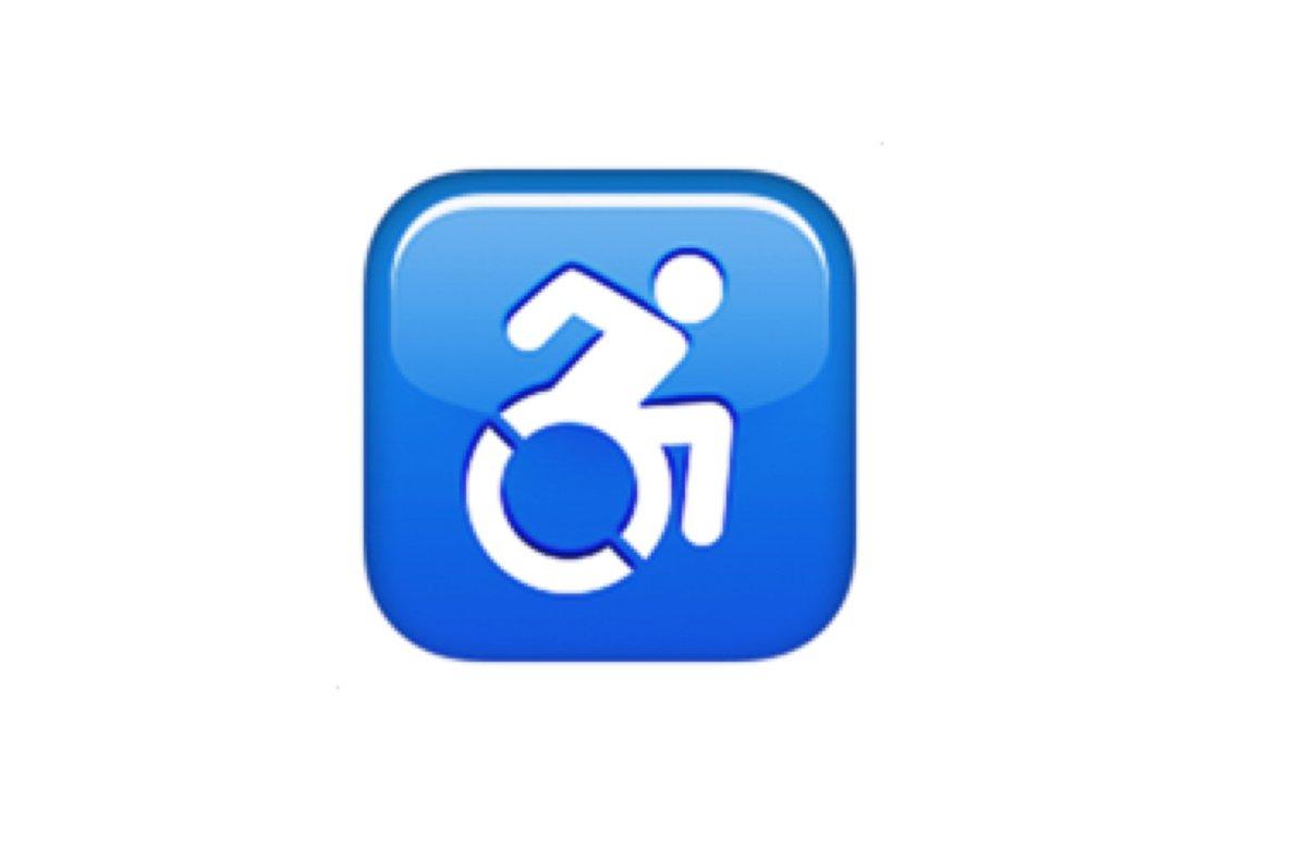 wheelchair emoji white leather slipper chair emojipedia  on twitter quot symbol