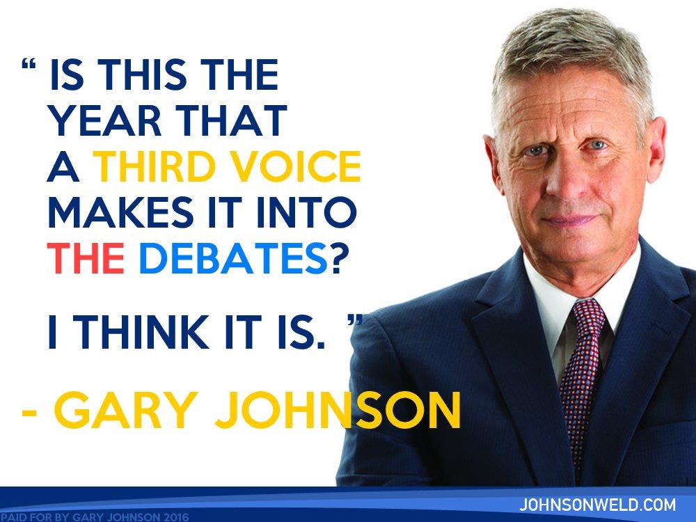 gov gary johnson on