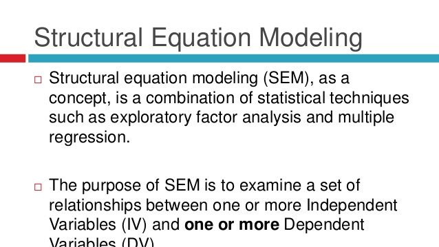 Introduction to Structural Equation Modeling:  #abdsc #DataScience #MachineLearning