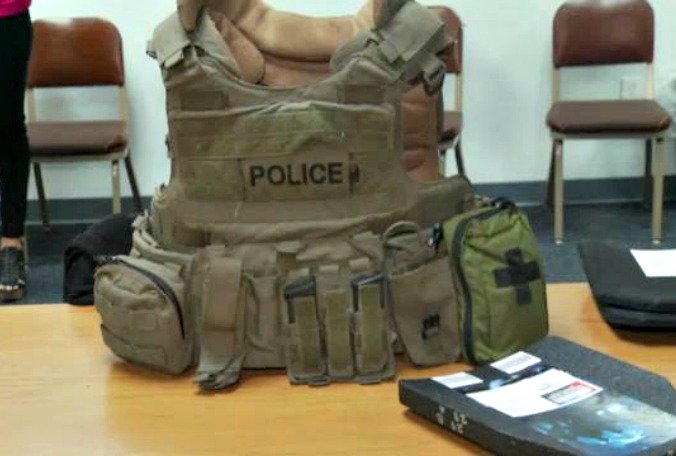 Group purchases new bulletproof vest plates for #StPete SWAT  @TrevorPettiford