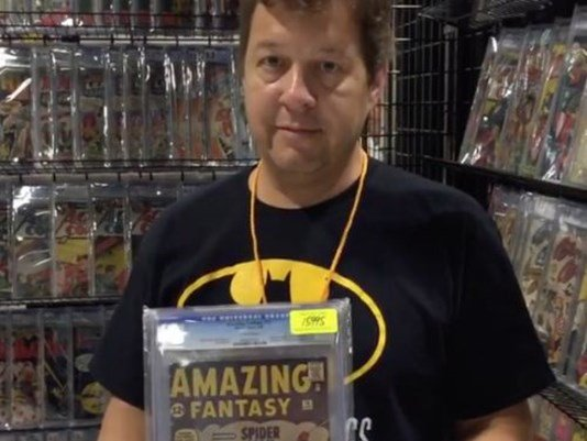 Comics dealer says $85,000 in books stolen from @TampaComicCon.