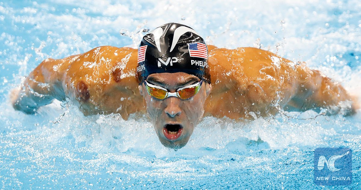 Michael phelps receives cupping therapy a chinese suction ...