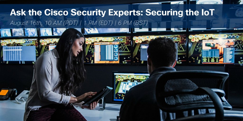 Ask our experts how to prepare for the #security challenges of the Internet of Things:  #IoT