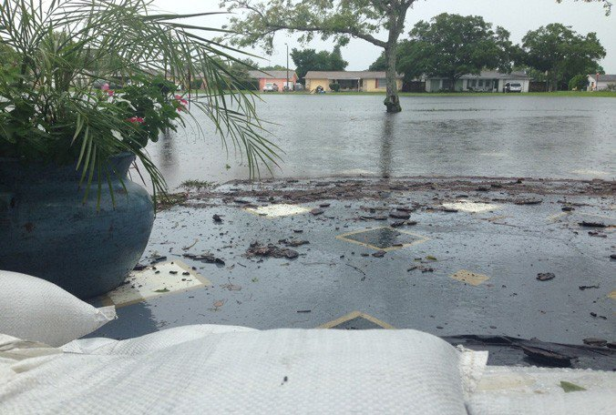 Port Richey neighborhood hit hard by flooding from recent rains, @LeahMasuda reports: