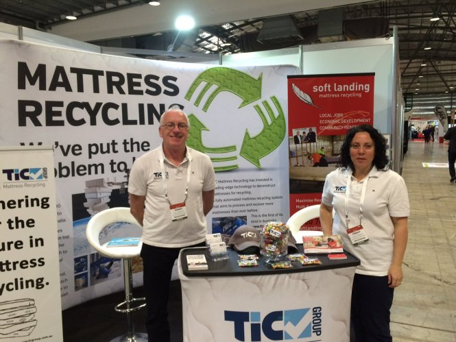 Tic Group On Twitter Mattress Recycling Are At Sydney Olympic Park For The 2016 Australasian Waste Expo