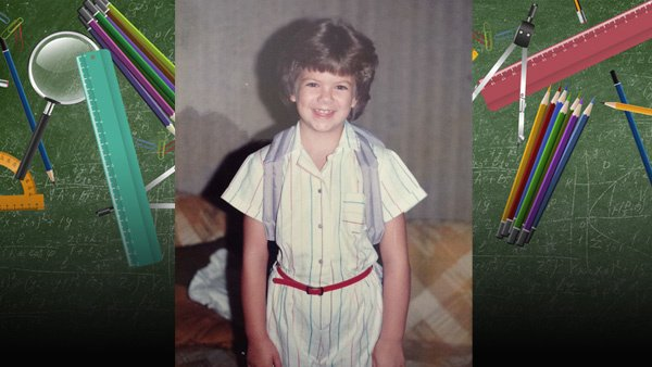 .@WFLALeigh was so cute on her first day of school! Send us your First Day of School photos!