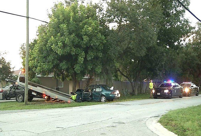 #Largo man attacked by bees after traffic crash Thursday morning
