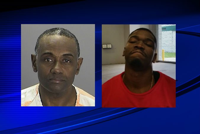 Two Port Richey men were arrested after deputies say one of the men shot at them: