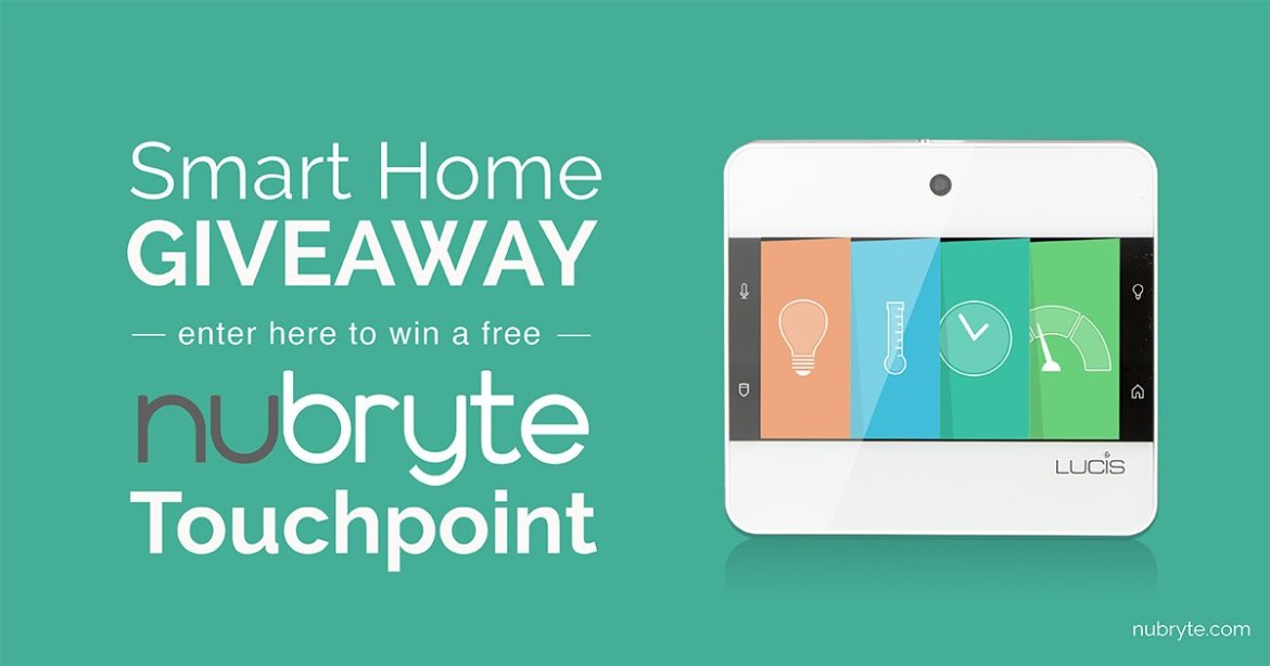 I want a smart home! Enter to #WIN a FREE NuBryte!  #EnterToWin #giveaway #contestalert
