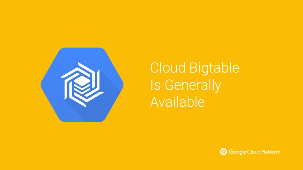 Use the same managed, petabyte-scale #NoSQL DB that powers Google. Cloud Bigtable is now GA: