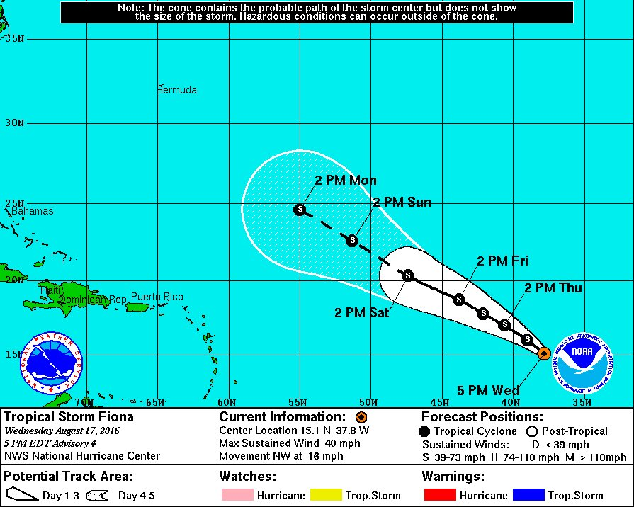 Tropical Storm #Fiona develops in the Atlantic; 6th named storm.  @TB_Times