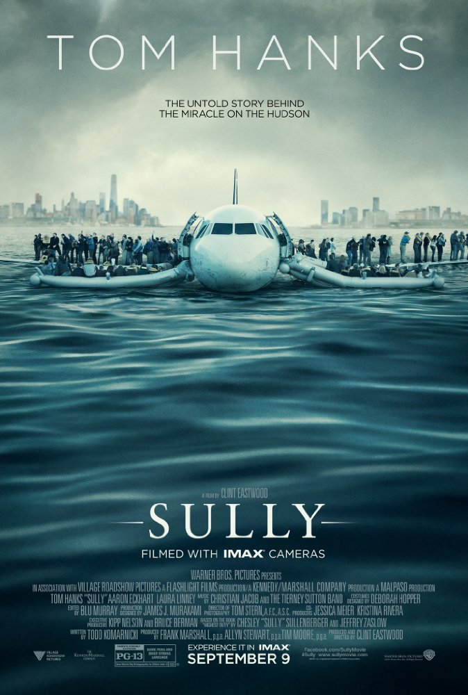 Sully IMAX Trailer Featuring Tom Hanks & Clint Eastwood 1
