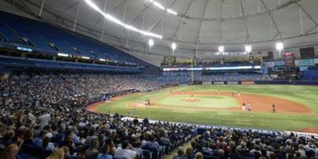 Turnout falls short for #BaseballForever event at Tropicana Field