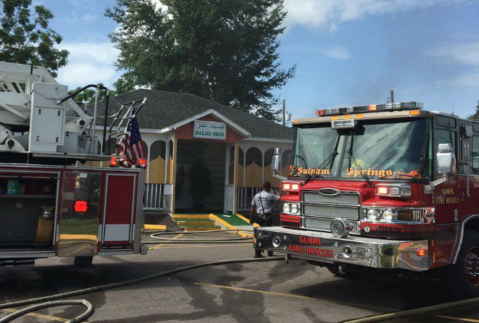 A fire at a #Tampa mosque has been ruled arson, according to Tampa Fire Rescue