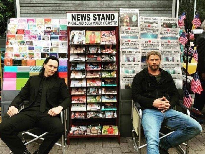 Thor: Ragnarok photos set