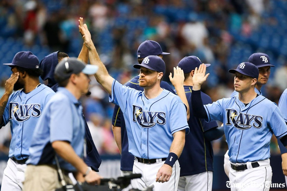Rays earn series win over AL West-leading Rangers (w/video).  #Rays @RaysBaseball #Rangers