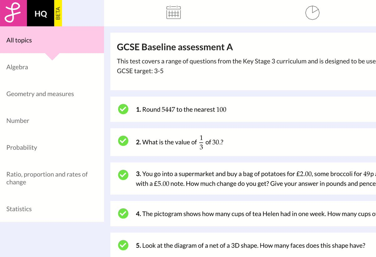 Gcse Maths Test Online Free