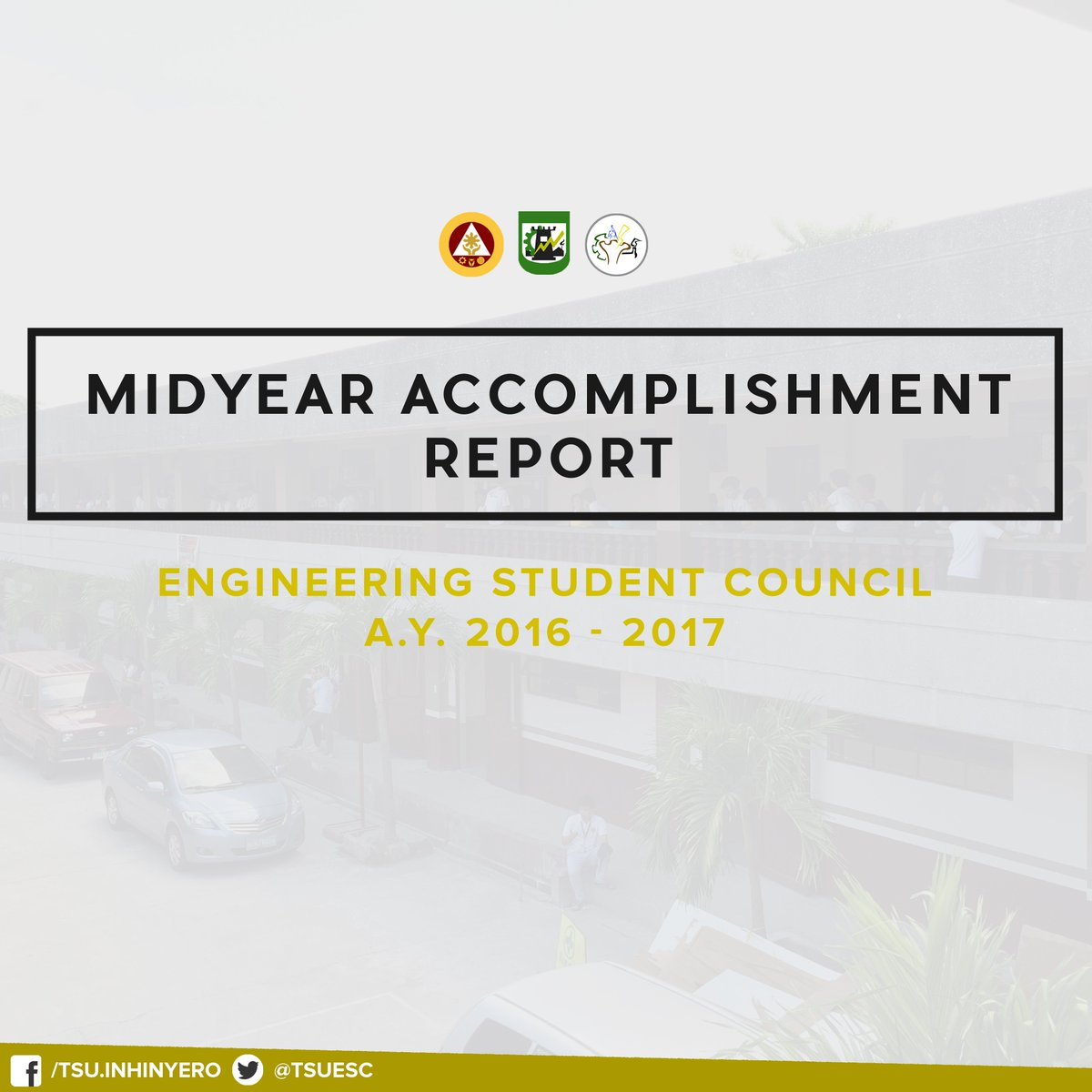 "Tsu Cet Sc 1718 On Twitter: ""midyear Accomplishment Report A.y. 2016 - 2017  #transparency… """