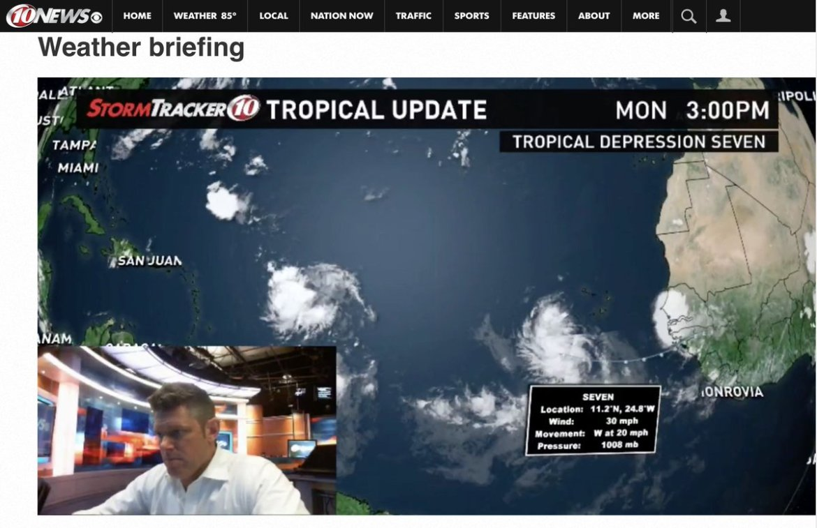 New Tropical WX Briefing on what could impact the U.S. in about a week. Watch -  #WTSP #flwx