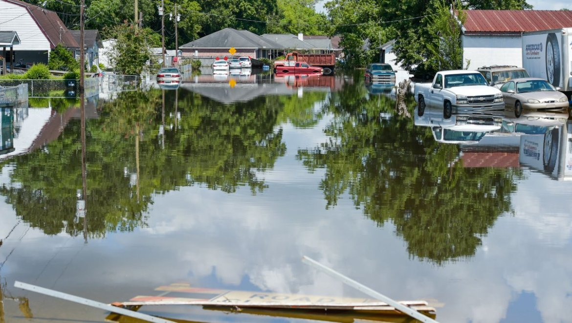 Parts of Louisiana still have 2 feet of standing water.