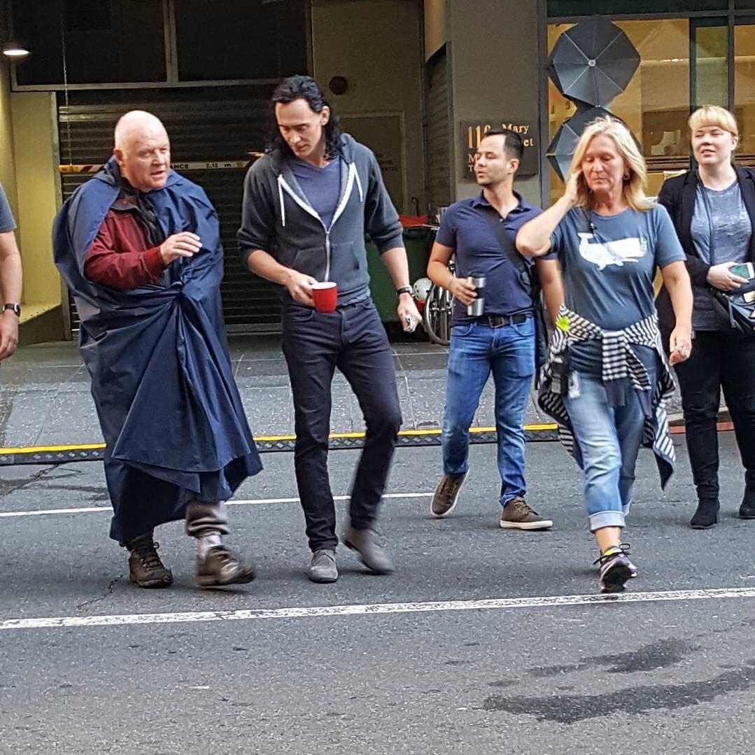 Thor: Ragnarok Set Photos 8