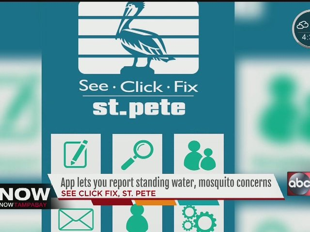 .@StPeteFL is using technology 4 citizens 2 report standing water in real-time. #SeeClickFix