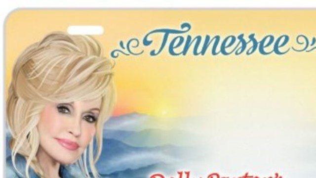 License plate featuring @DollyParton now available