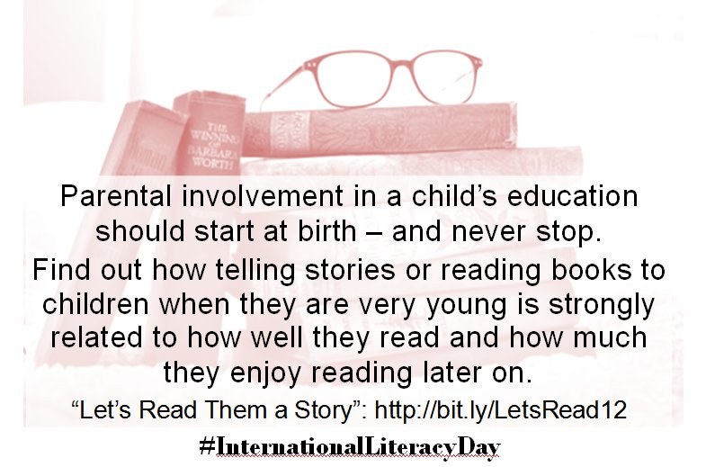 Parents, read yr children a story on #InternationalLiteracyDay Here's the research  #OECDPISA