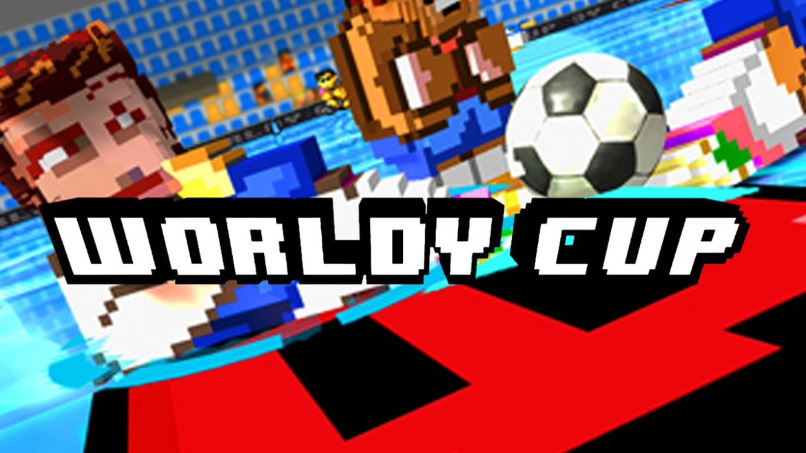 Worldy Cup VR is a fast-paced, old-school arcade soccer game available now for #Rift!