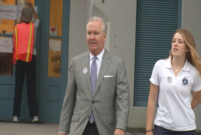 It's Primary Election Day. Tampa Mayor @BobBuckhorn made his vote count today. Have you?