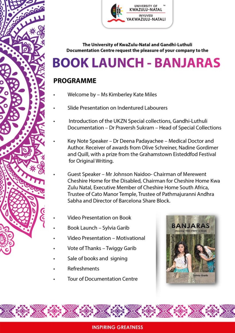 You Are Cordially Invited To The Book Launch Of Banjaras Regards Team Ukznpic Twitter Com Vzi6pans1v