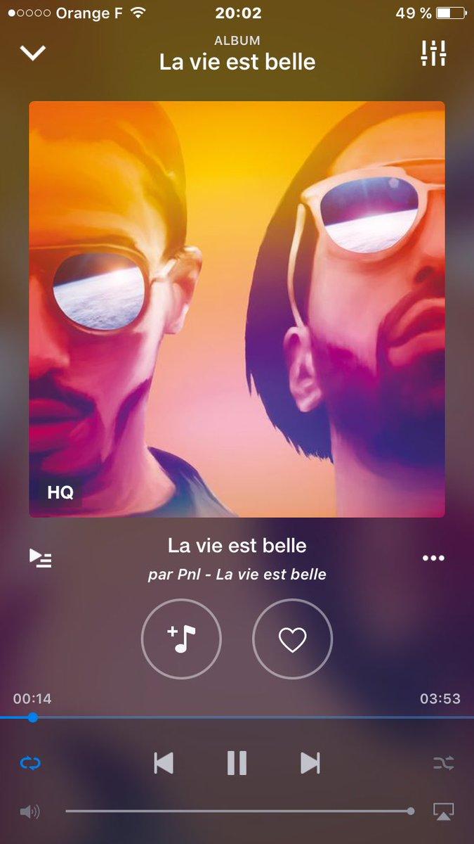 La Vie Est Belle Pnl : belle, Freetchikitchiki, Hashtag, Twitter