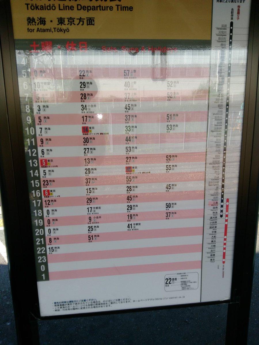 トップ畫像レビュー: トップ 東海道 線 熱海 時刻 表