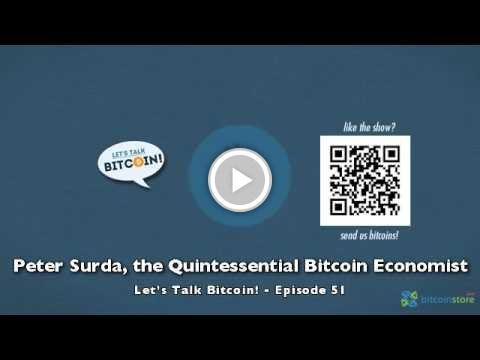 Peter Surda, the Quintessential Bitcoin Economist  #staged