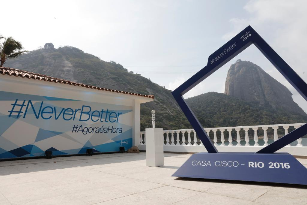 Cisco + Rio = GOLD! @KarMWalker shares how Cisco handled data, IoT & security events