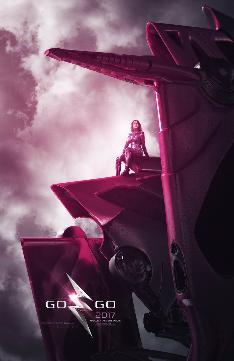 Power Rangers Character Posters Unveiled 2
