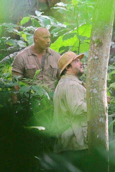 First Jumanji Sequel Set Photo Revealed 4