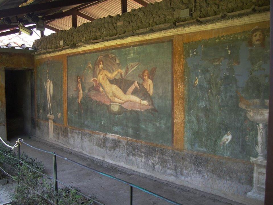 Resultado de imagen de Pompeya Venus conchiglia
