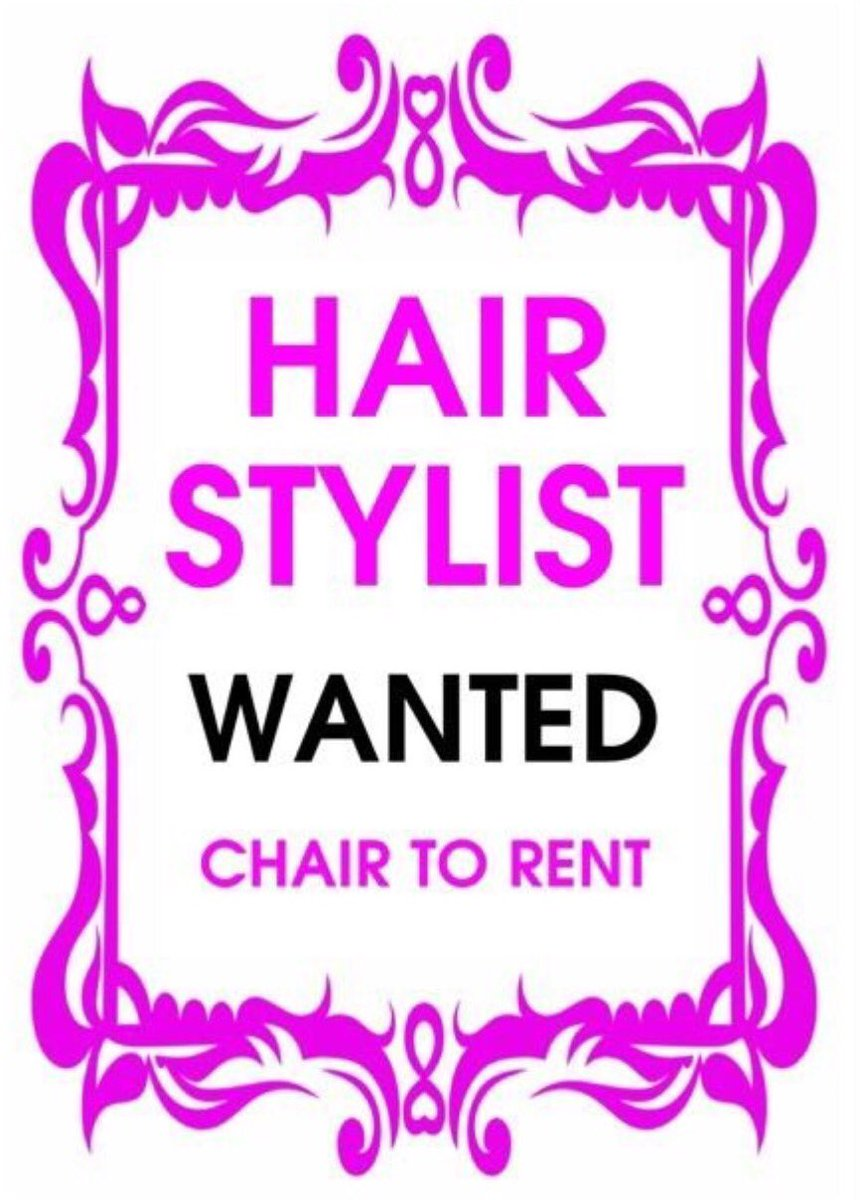 rent a chair fisher price papasan nuuhair beautylounge on twitter we are looking for hair stylist who would like to at our brand new beauty salon based in woodford green essexpic com