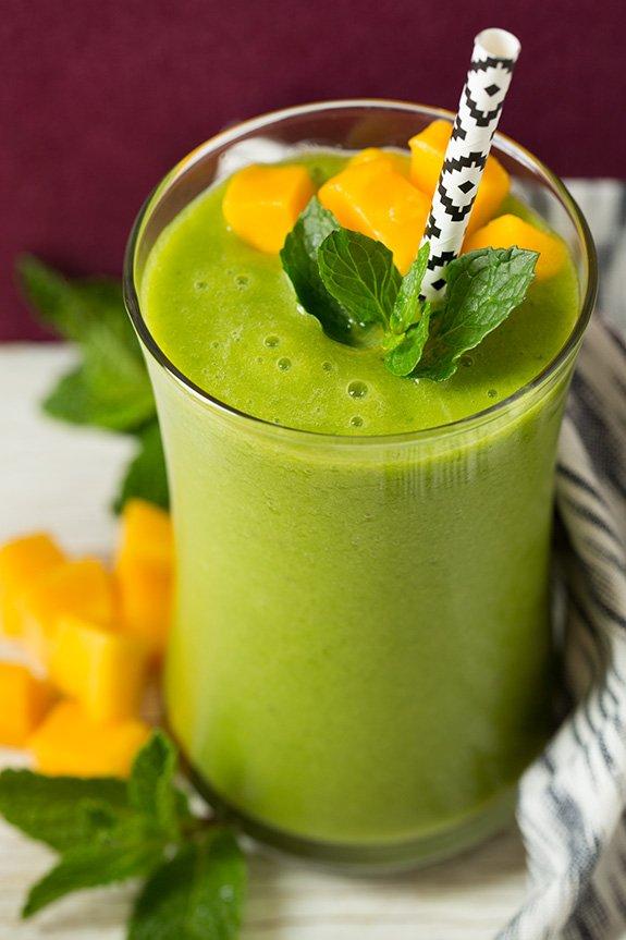 Mango Green Tea Smoothie Recipe: